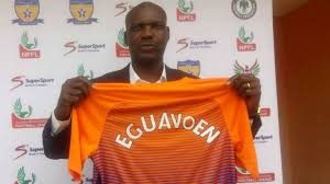 Austin Eguavoen being unveiled by Sunshine FC,Akure