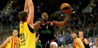 FIBA Euroleague basketball action