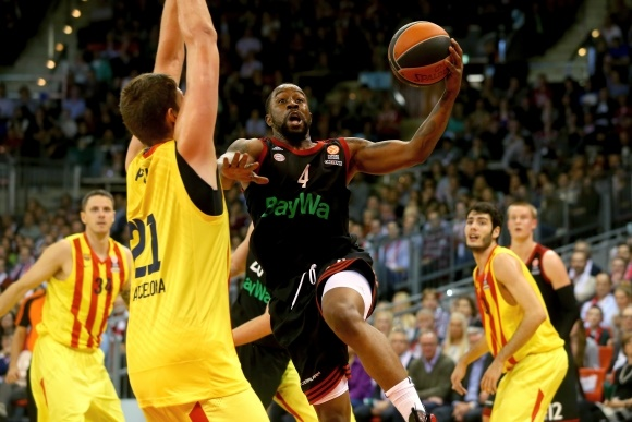 FIBA Euroleague basketball action
