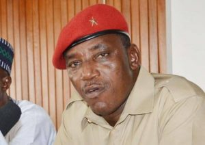 Barrister Solomon Dalung, Minister of Youth and Sports.