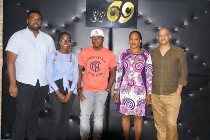 L-R:LucidLemons crew member,Emmanuel Anosike,CEO LucidLemons,Tomisin Akinwunmi,Music Artiste,Jeff Akoh,Project Consultant,Shade Falokun,Representati