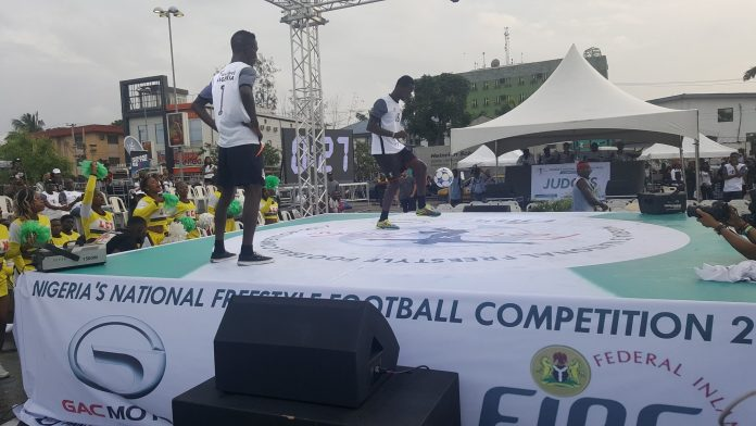 2017 Freestyle football competition in Lagos