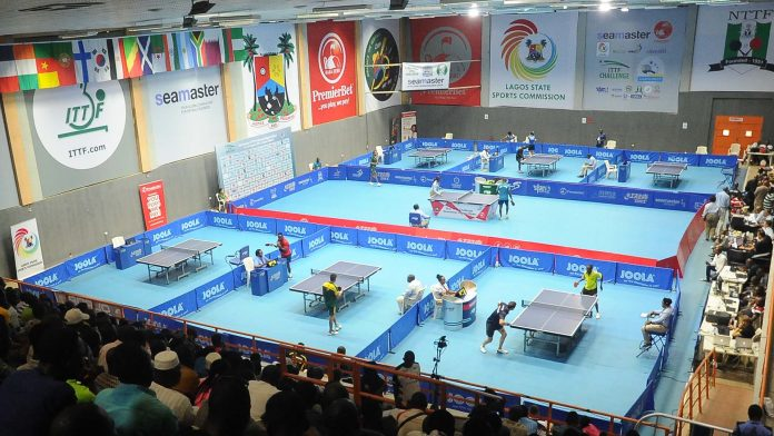 Spectacular view of the 2017 ITTF Challenge Nigeria Open