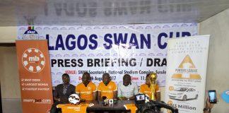 L-R:Wale Joseph,Adebowale Oshundun,Fred edoreh,Stephen Ochefu,Monica