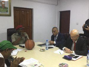 FIBA's Visit
