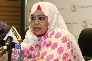 The Commissioner for Social Affairs, African Union, H.E. Mrs. Amira ElFadil