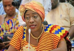 Ghana's Minister of Tourism, Arts and Culture, Hon. Catherine Afeku