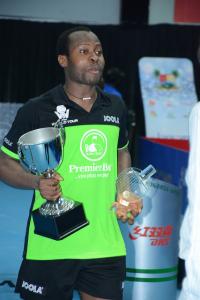Haruna Quadri Holding Trophy